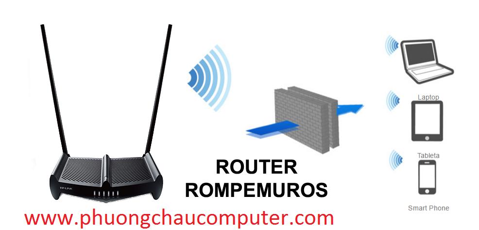 Bộ phát wifi TP-Link TL-WR841HP 300Mbps, angten 8dBi