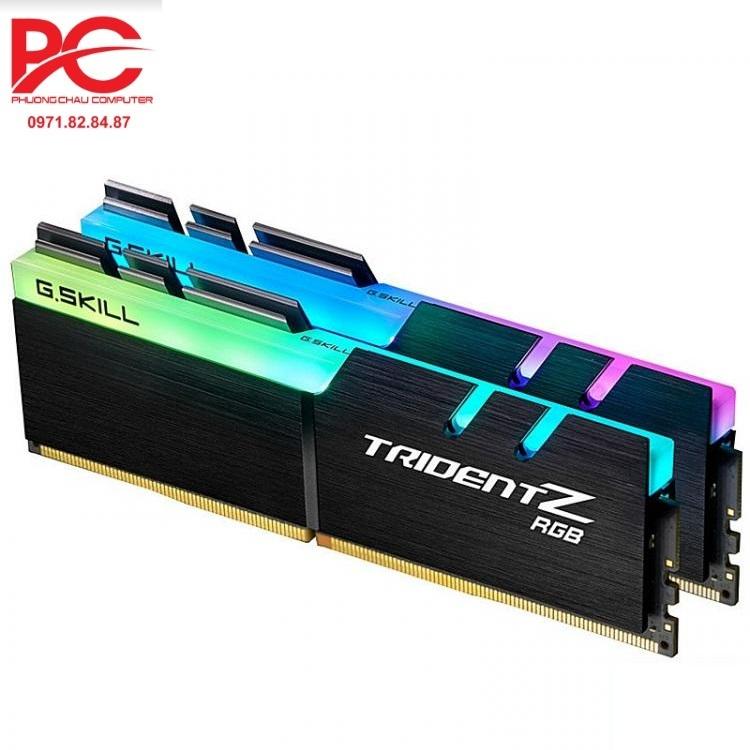RAM G.Skill TRIDENT Z RGB 16GB (8GBx2) DDR4 3000GHz - F4-3000C15D-16GTZR