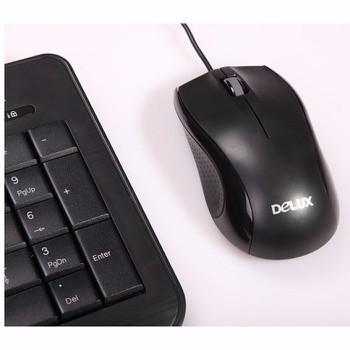 Chuột có dây Delux M375BU