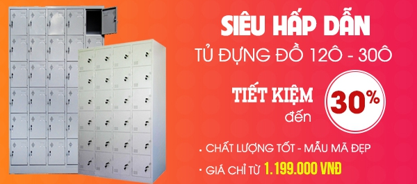 Flash Sale Tủ Locker