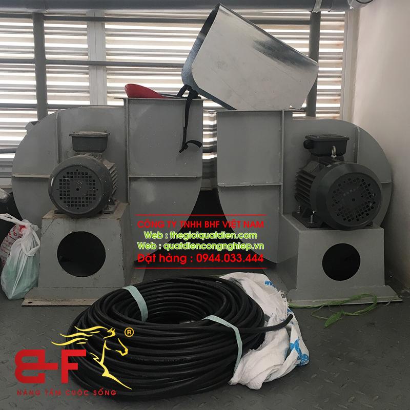 Quạt ly tâm công nghiệp dòng trung áp 30HP/22KW