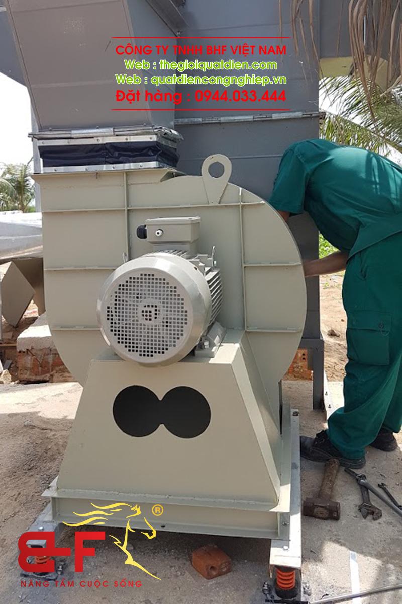Quạt ly tâm công nghiệp dòng trung áp 30HP/22KW 3