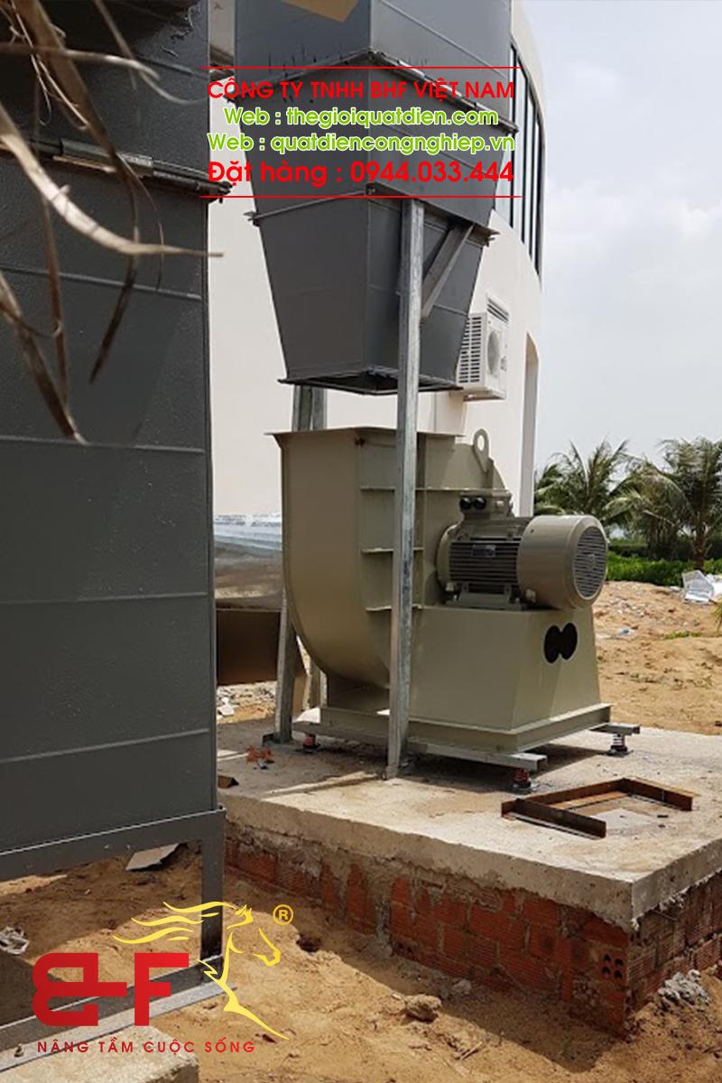 Quạt ly tâm công nghiệp dòng trung áp 30HP/22KW 4