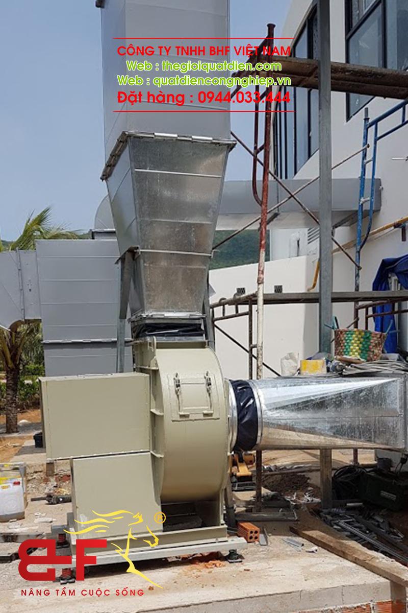 Quạt ly tâm công nghiệp dòng trung áp 30HP/22KW 5