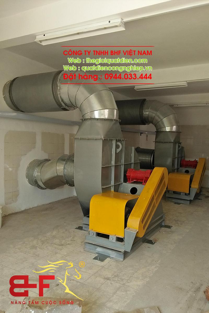 Quạt ly tâm công nghiệp dòng trung áp 30HP/22KW 6