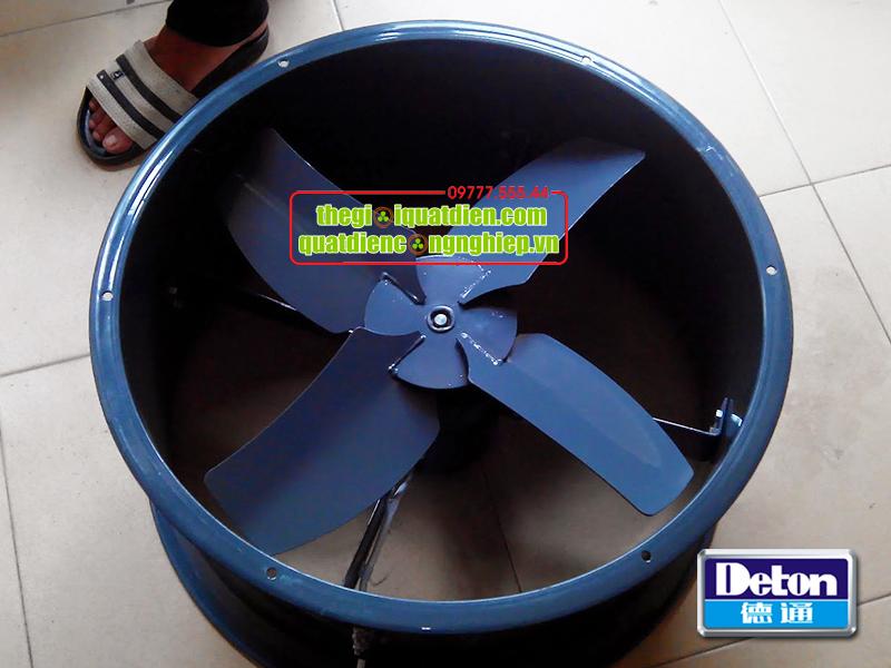 Quạt thông gió tròn công nghiệp