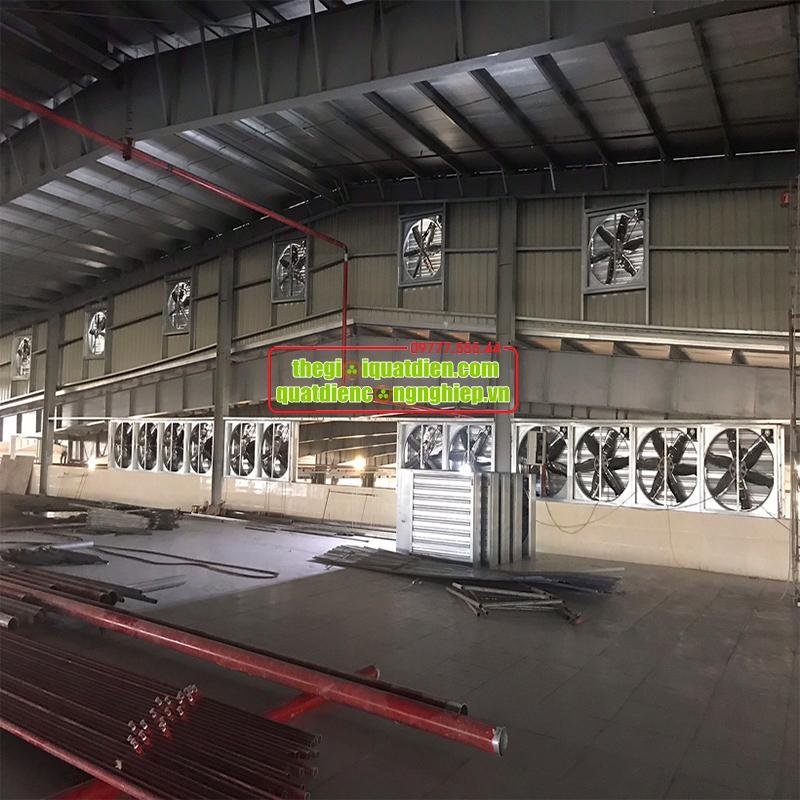 Quạt thông gió khu nhà xưởng