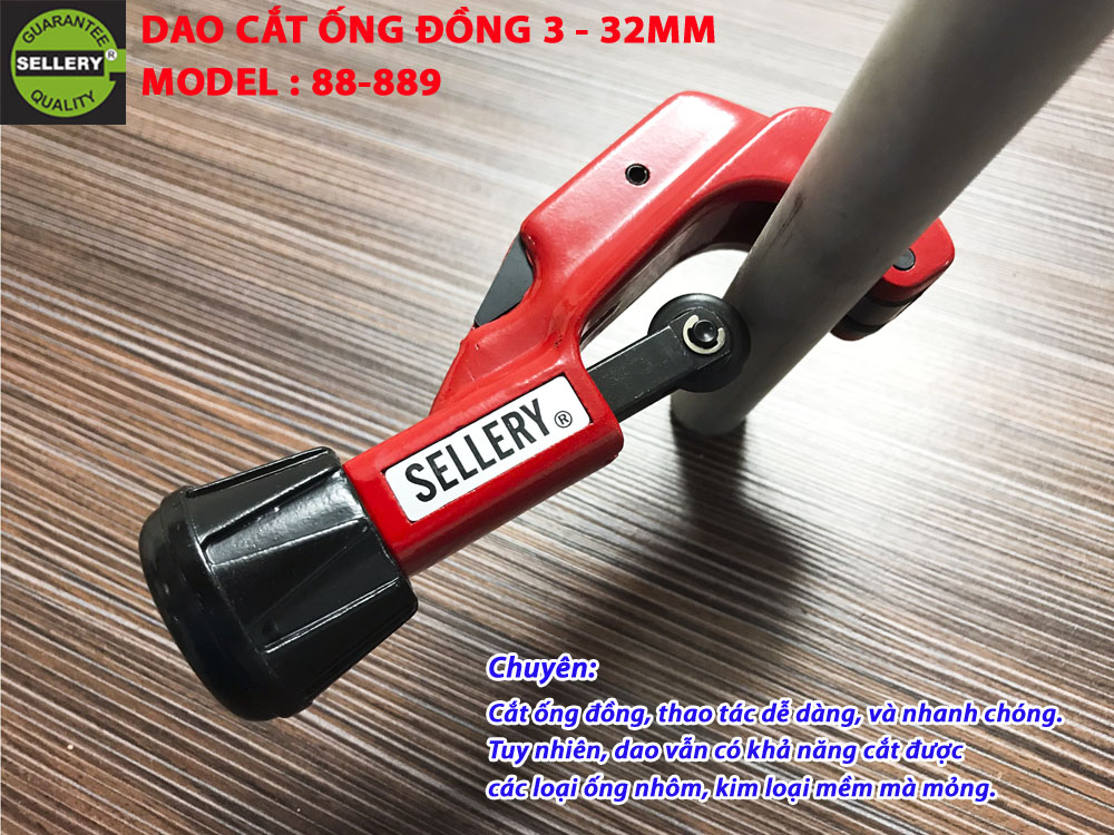 DAO CẮT ỐNG ĐỒNG 3 - 32MM SELLERY 88-889