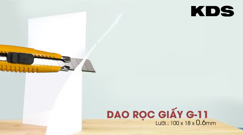 dao roc giay 18mm KDS G-11;