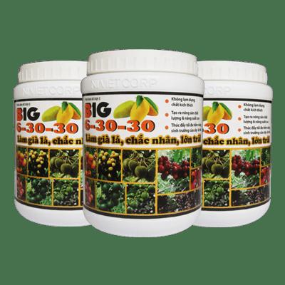 BIG Chế phẩm làm già lá chắc nhân lớn trái 6-30-30