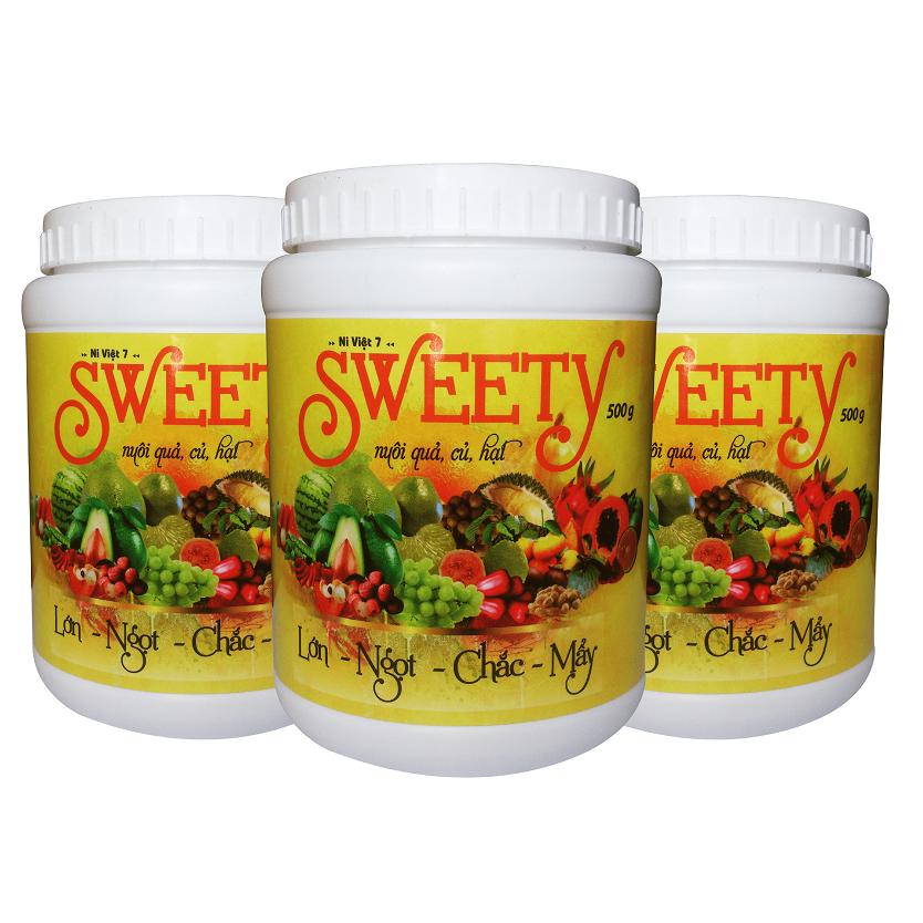 SWEETY 8-5-45 nuôi trái lớn nhanh, ngon ngọt, sáng bóng