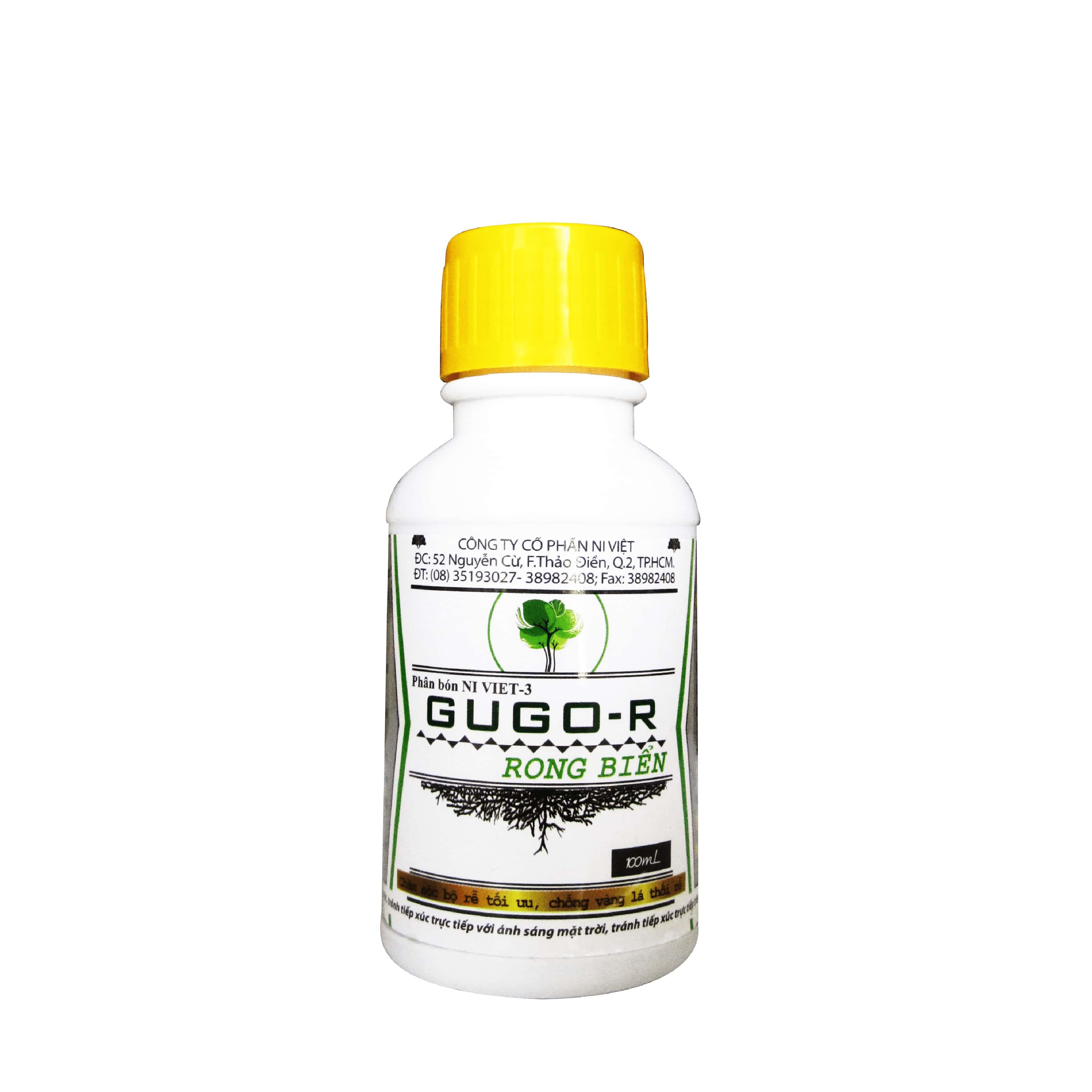 Thuốc kích rễ GUGO-R 100 ml bổ sung chiết xuất rong biển làm mát cây