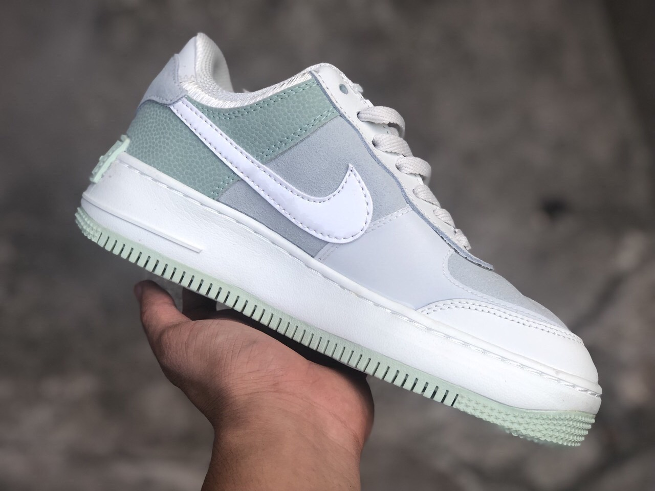 Giay Nike Af1 Shadow Spruce Aura Green Xanh Ngọc Kl Store Sneakers More Giày sneaker, giày thể thao nike nữ. nike af1 shadow spruce aura green xanh