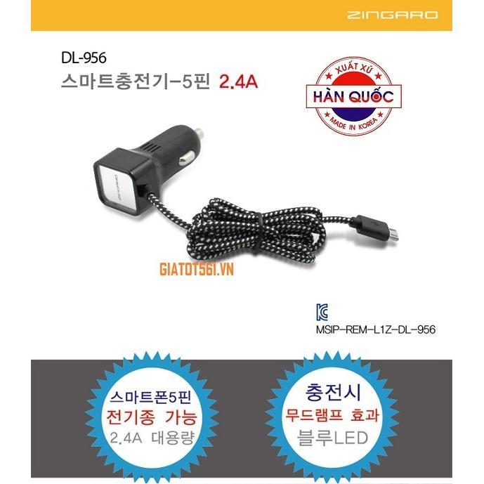 sac-nhanh-cho-xe-hoi-android-2-4a-zingaro-korea-dl-956