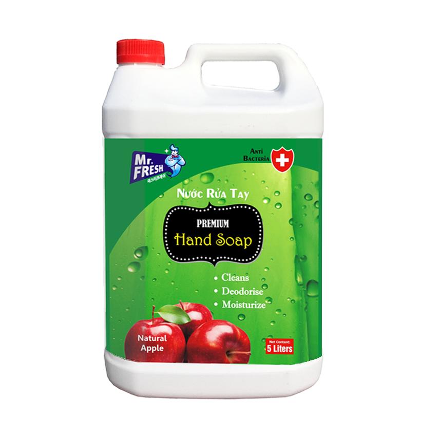 can-nuoc-rua-tay-premium-hand-soap-mr-fresh-han-quoc-5l