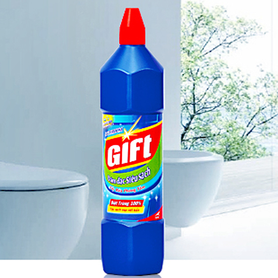 Nước tẩy nhà vệ sinh- GIFT siêu sạch 900ml/600ml