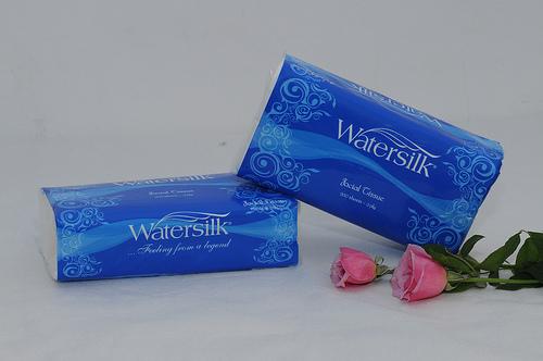 Giấy ăn Watersilk gói chữ nhật