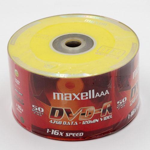 Đĩa DVD-R Maxell không vỏ nhựa