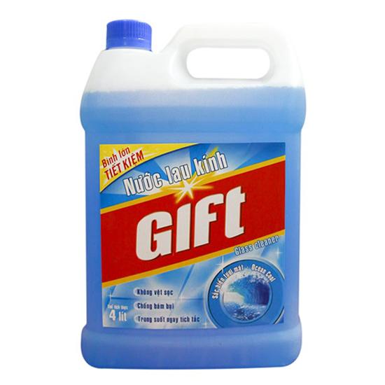 Nước rửa kính Gift can 3.8kg