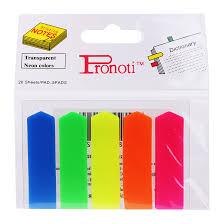 Phân trang nhựa 5 màu