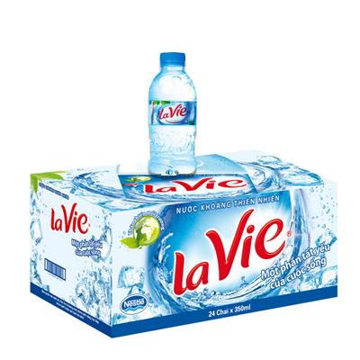 Nước tinh khiết Lavie 350ml
