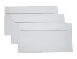 Phong bì trắng 22x12cm có dán 100gsm