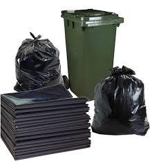 Túi nilon đen không quai đựng rác các kích thước