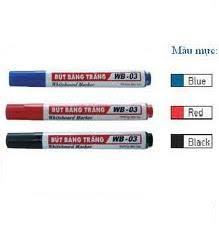 Bút viết bảng Thiên Long WB03 xanh/đen/đỏ