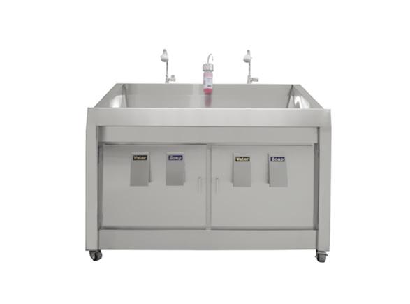 Bồn rửa tay vô trùng 2 vòi