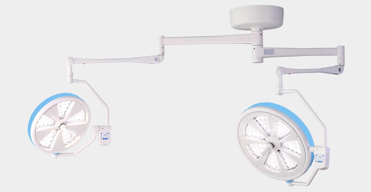 Đèn mổ LED treo trần 2 nhành 40-56 LED