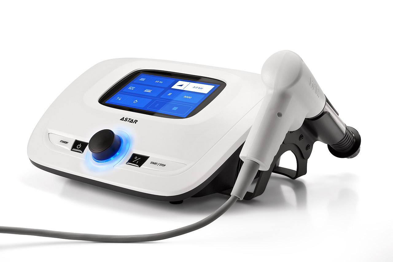 Máy điều trị bằng sóng xung kích Impactis M