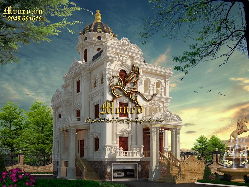 bản vẽ thiết kế lâu đài