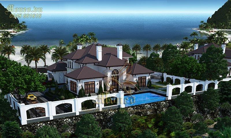 Siêu phẩm mẫu thiết kế biệt thự phong cách Địa Trung Hải 2 tầng siêu đẹp