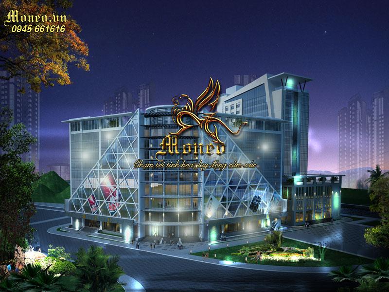 thiết kế khách sạn hiện đại
