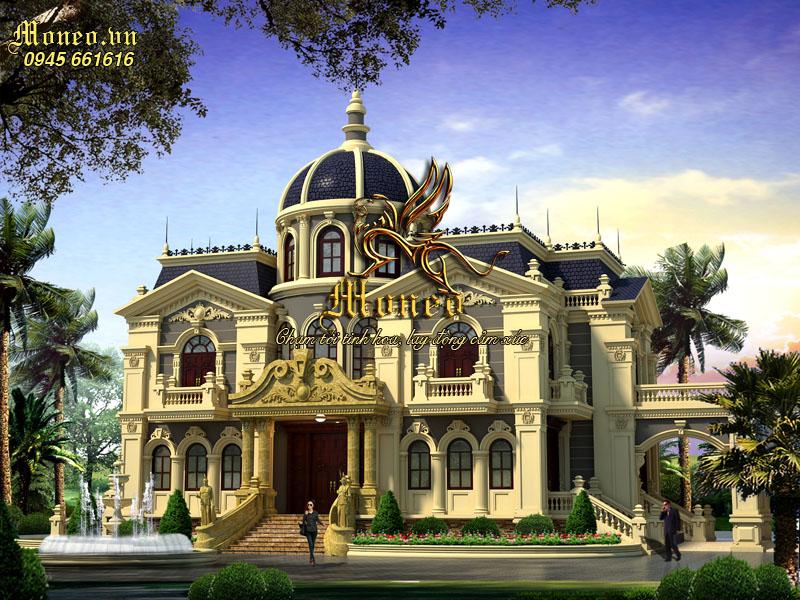 thiết kế lâu đài châu âu cổ điển