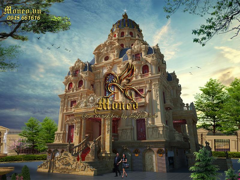 thiết kế lâu đài cổ