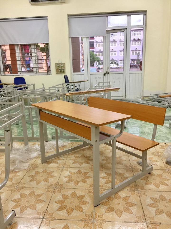 Bộ bàn học sinh liền ghế BHS103