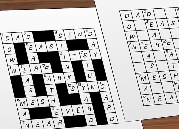 cách chơi crossword puzzle