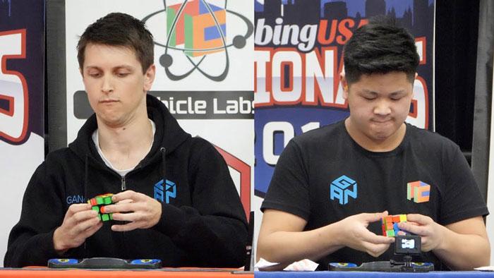 Feliks Zemdeg và Max Park là hai người chơi CFOP giỏi nhất hiện nay
