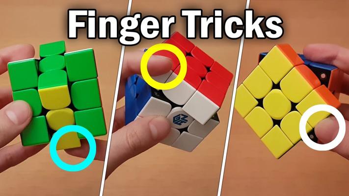 Hướng dẫn Finger Trick Rubik cơ bản đến nâng cao