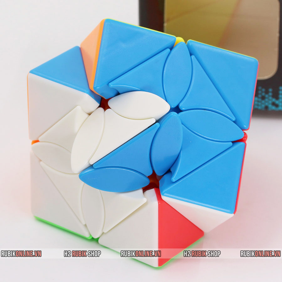 MoFangJiaoShi MeiLong Maple Leaf Skewb