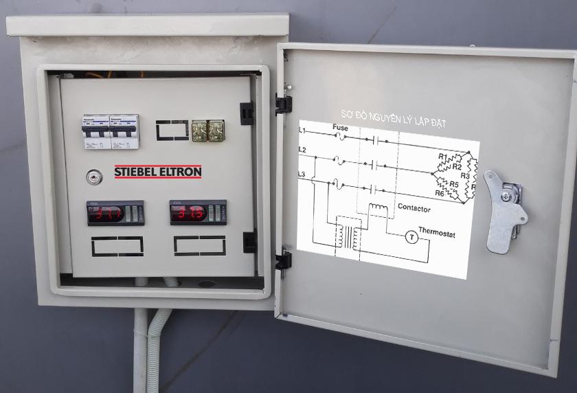 Tủ điện điều khiển Stiebel Eltron