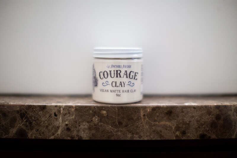review  Clay Courage Pomade