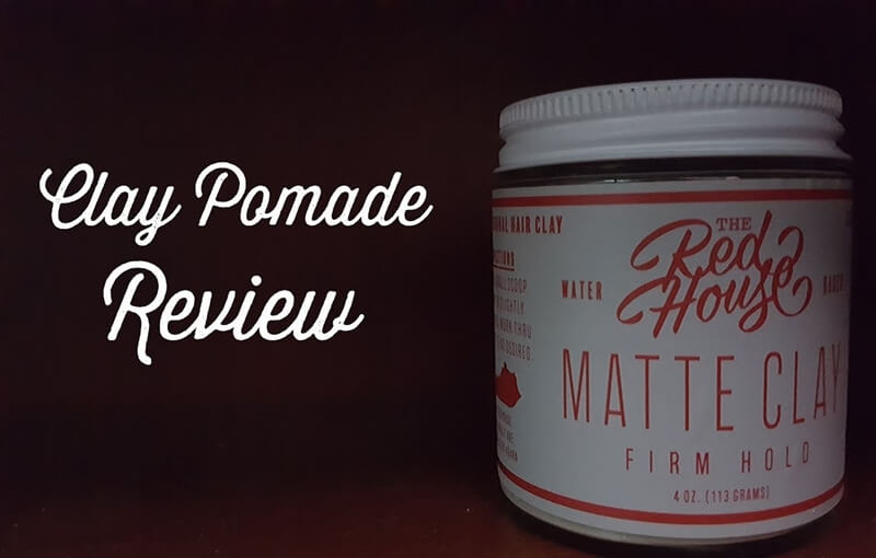 Red House Matte Clay Pomade