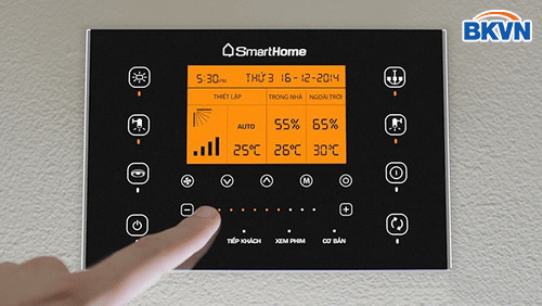 Công tắc điều khiển 6 kênh smart home