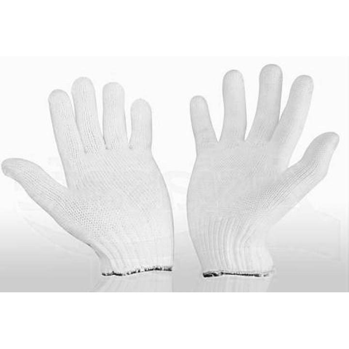Găng tay bảo hộ lao động len sợi trắng - 10 đôi