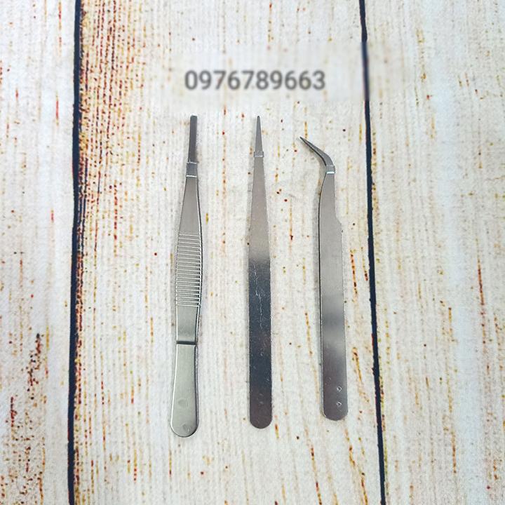 Bộ dụng cụ panh nhíp sửa chữa điện tử TS-9803