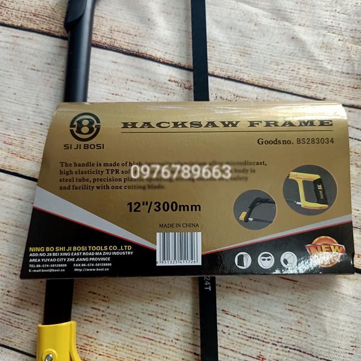 Cưa sắt cầm tay cao cấp bosi tools 12