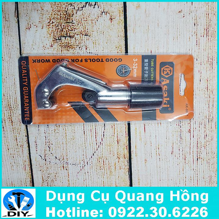 Dao cắt ống đồng, nhôm 4-28mm Asaki Ak-8607