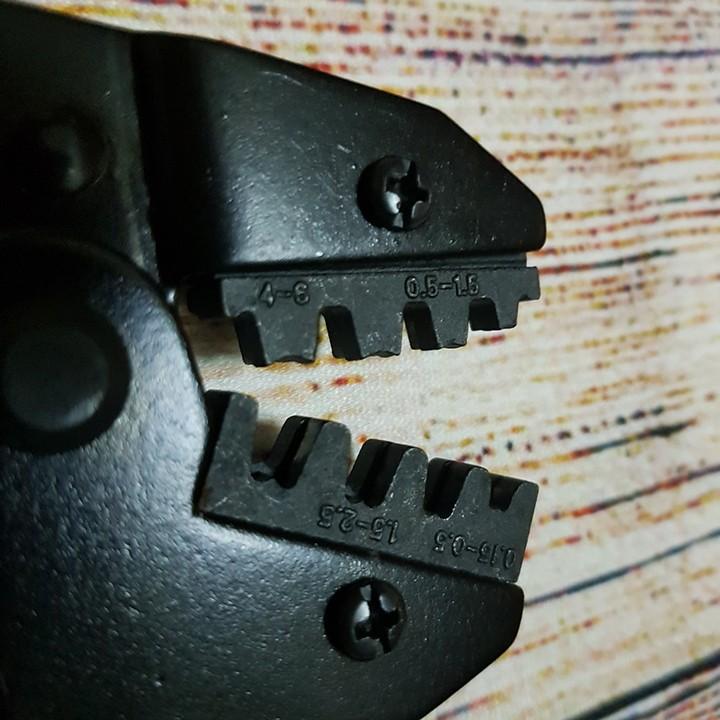 Kìm bấm đầu cos dây điện Asaki 9122 0.15 ~ 6mm2